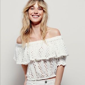 Free people that girl off the shoulder shirt